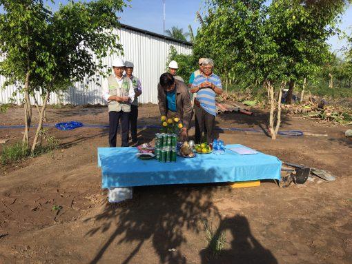 xây dựng làm ẩm thực thép tiền chế Bến Tre
