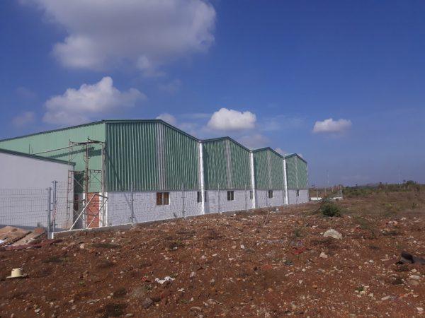 Thiết kế thi công xây dựng nhà kho xưởng tại Bà Rịa Vũng Tàu