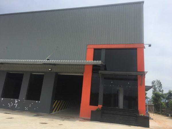 Xây dựng nhà xưởng tại Long Thành Đồng Nai