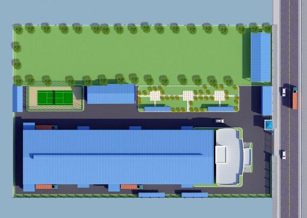 Thiết kế nhà xưởng tại Bà Rịa Vũng Tàu