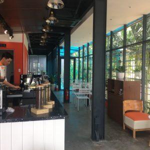 Cafe khung thep thép tiền chế tại Long An