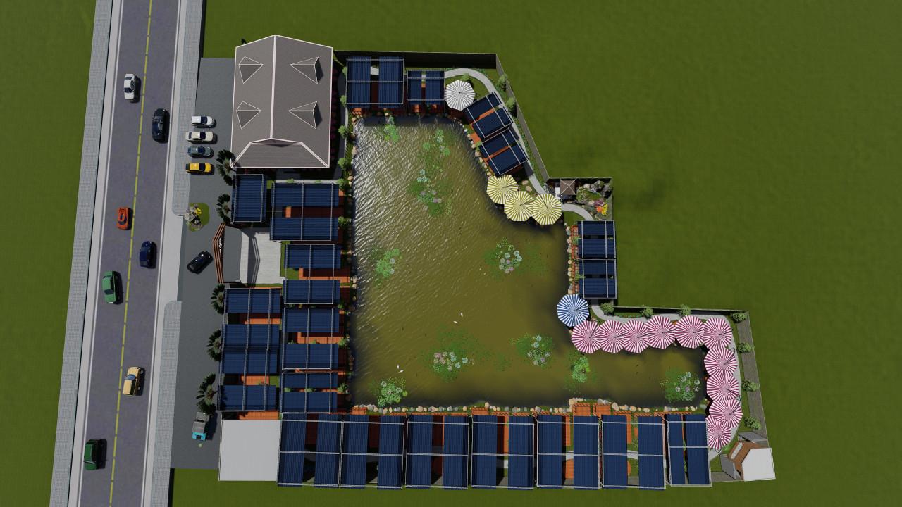 Xây dựng làng ẩm thực tiền chế Bến Tre