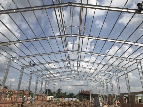 Xây dựng nhà xưởng đẹp tại TPHCM