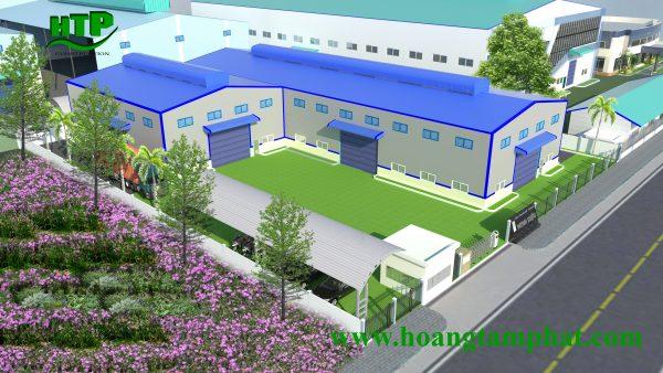 Thiết kế thi công xây dựng nhà xưởng tại Thủ Đức TPHCM