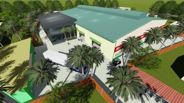 Thiết kế xây dựng nhà xưởng tại Long An