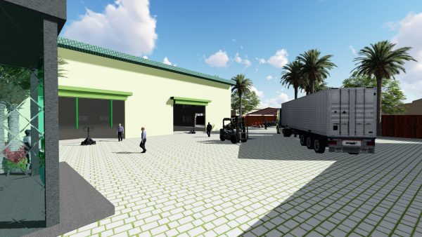 Thiết kế xây dựng nhà xưởng tai Long An