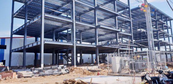 Xây dựng nhà xưởng tại Long An
